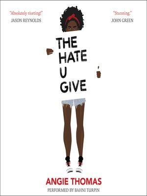 Book Review The Hate U Give Gracefullyyou